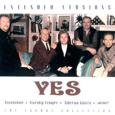Yes - Extended Versions CD (2007) (CD): Yes