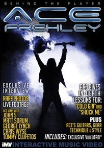 Kiss - Ace Frehley: Behind the Player (DVD): Ace Frehley, Kiss