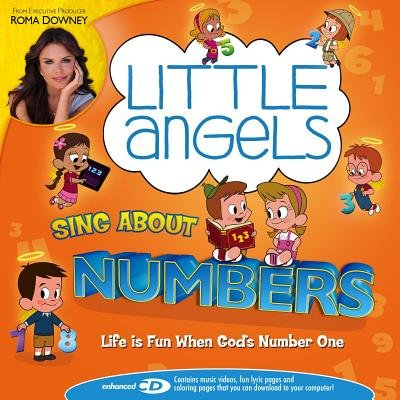 Little Angels Sing about Numbers (CD): Little Angels