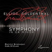 Various Artists - Elliot Goldenthal: Symphony in G# Minor (CD): Elliot Goldenthal, Pacific Symphony Orchestra, Carl St Clair