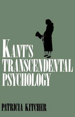 Kant's Transcendental Psychology (Electronic book text):