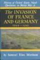 History of United States Naval Operations in World War II, v. 11 - Invasion of France and Germany 1944 - 1945 (Hardcover, New...