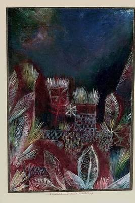 Tropical Twilight (Paul Klee), for the Love of Art - Blank 150 Page Lined Journal for Your Thoughts, Ideas, and Inspiration...