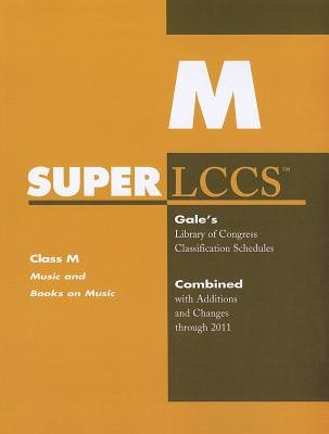 SUPERLCCS - Class M: Music and Books on Music (Paperback): Gale