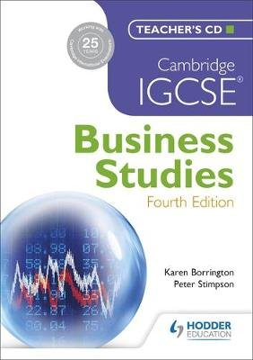 Cambridge IGCSE Business Studies (CD-ROM, 4th Revised edition): Karen Borrington, Peter Stimpson