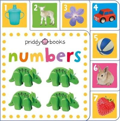 Mini Tab: Numbers (Board book): Roger Priddy