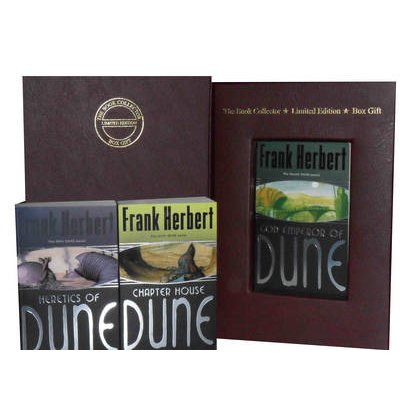 Frank Herbert Dune Collection - Heretics of Dune (gollancz Sf S.), Chapter House Dune: the Sixth Dune Novel & God Emperor of...