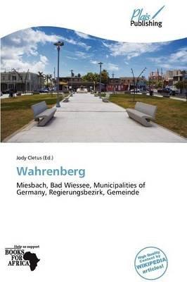 Wahrenberg (Paperback): Jody Cletus