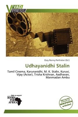 Udhayanidhi Stalin (Paperback): Ozzy Ronny Parthalan