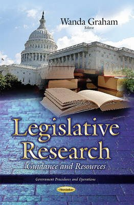Legislative Research - Guidance & Resources (Paperback): Wanda Graham