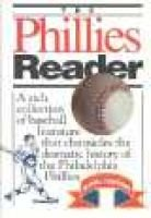 Phillies Reader (Hardcover): Richard Orodenker