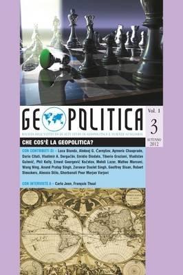 Geopolitica - Che Cos'e la Geopolitica?, Vol. I, No. 3 (Italian, Paperback):