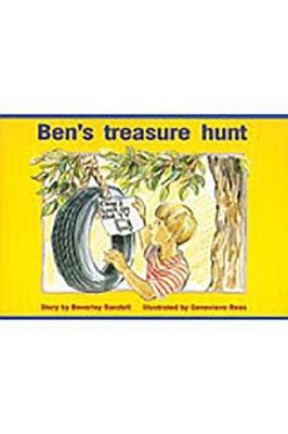 Rigby PM Platinum Collection - Individual Student Edition Red (Levels 3-5) Ben's Treasure Hunt (Paperback): Various,...