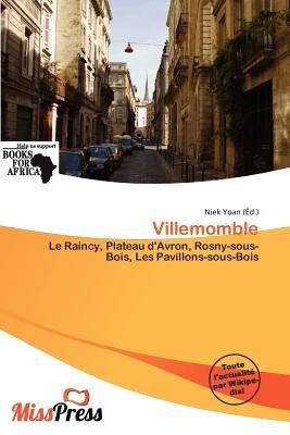 Villemomble (French, Paperback): Niek Yoan
