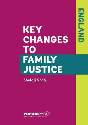 Key Changes to Family Justice (England) (Paperback): Shefali B. Shah