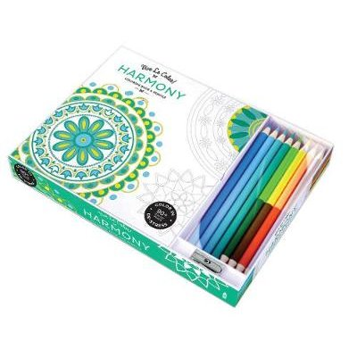 Vive le Color! Harmony - Color Therapy Kit (Coloring Book and Pencils) (Kit): Abrams Noterie