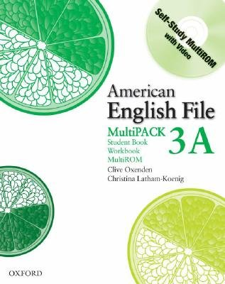 American English File Level 3: Student Book/workbook Multipack A (Paperback): Clive Oxenden, Christina Latham-Koenig, Paul...