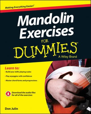 Mandolin Exercises For Dummies (Paperback): Don Julin
