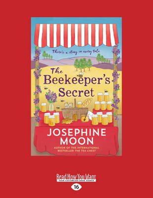 The Beekeeper's Secret (Large print, Paperback, Large type / large print edition): Josephine Moon