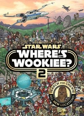 Star Wars: Where's the Wookiee 2 - Search and Find Activity Book (Paperback): Lucasfilm