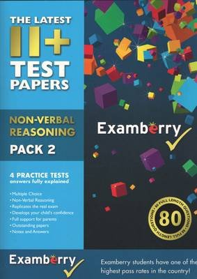 11+ Test Papers - Non-Verbal Reasoning Pack 2 (Pamphlet): Examberry LLP