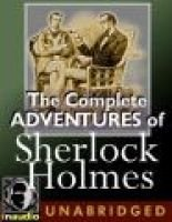 The Complete Adventures of Sherlock Holmes (Standard format, CD): Arthur Conan Doyle
