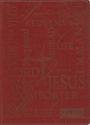 Names of Jesus Journal (Paperback): Christian Art Gifts