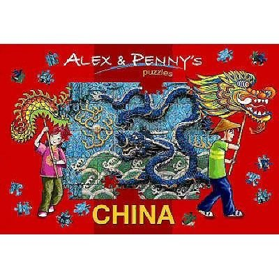 Alex and Penny in China (Hardcover): Giada Francia