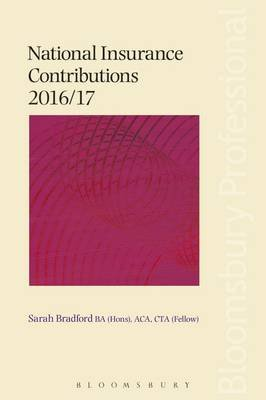National Insurance Contributions 2016/17 (Electronic book text): Sarah Bradford