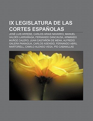 IX Legislatura de Las Cortes Espanolas - Jose Luis Arrese, Carlos Arias Navarro, Manuel Valdes Larranaga, Fernando Dancausa...