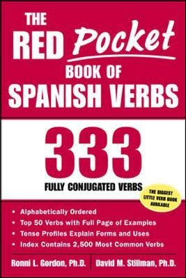 The Red Pocket Book of Spanish Verbs (Electronic book text): Ronni Gordon