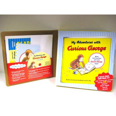 My Adventures with Curious George - A Build Your Own Book Kit (Hardcover): H .A. Rey