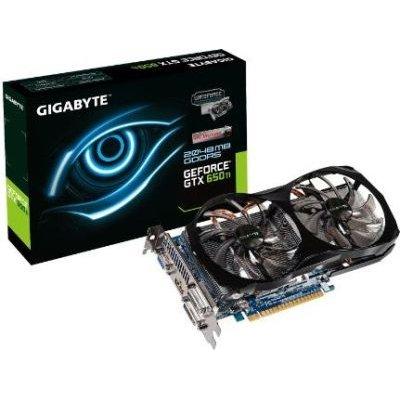 GIGABYTE NVIDIA GeForce GTX 650 Ti Graphics Card (2GB)(PCI-E 3.0):