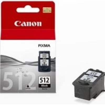 Canon PG-512 High Yield Ink Cartridge (401 Page Yield)(Black):