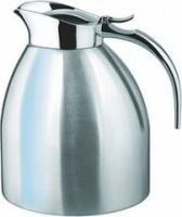 Isosteel Tableline Vacuum Pot with Flap Lid (1.5 Litre) (Silver):