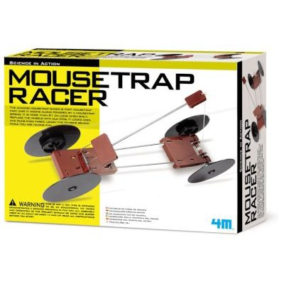 4M Science In Action - Mousetrap Racer: