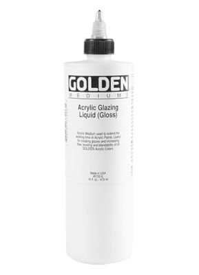 Golden Acrylic Medium - Glazing Liquid Gloss (473ml):