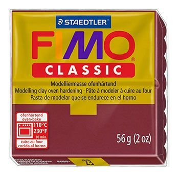Staedtler Fimo Classic - Bordeaux Red (56g):