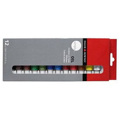 Daler Rowney Simply Oil Set (12x12ml):