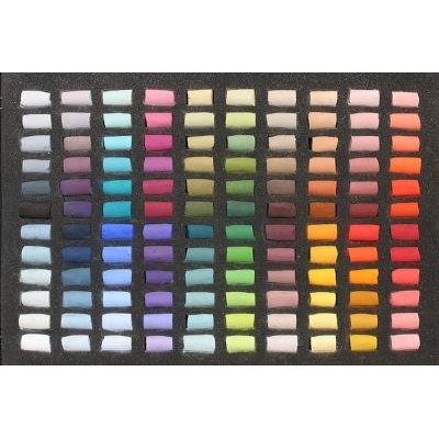 Unison Soft Pastel - Set of 120 Half Sticks: