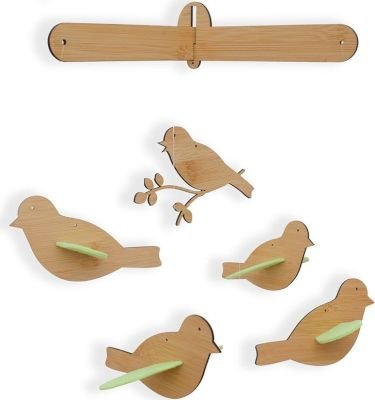 Simply Child Flying Birds Mobile - Green: