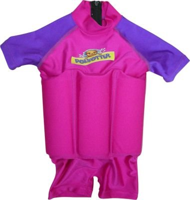Polyotter Sun Protection Floatsuits (56 cm) (Pink and Purple):