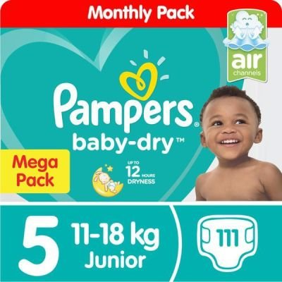 Pampers Active Baby Dry Junior (Size 5 | 111):