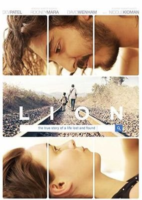 Lion (DVD): Dev Patel, Rooney Mara, David Wenham, Nicole Kidman
