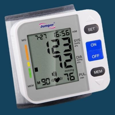Digital Wrist Type Blood Pressure Monitor: