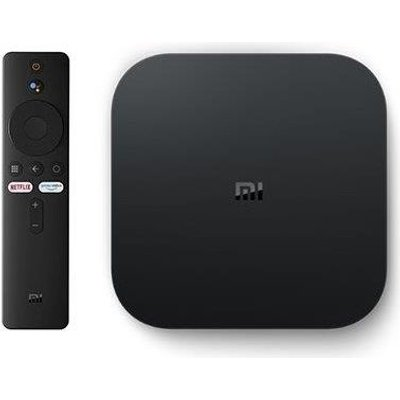 Xiaomi Mi TV Box S (For Smart TVs)(Black):
