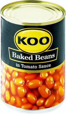 KOO Baked Beans in Tomato Sauce Can (410g):