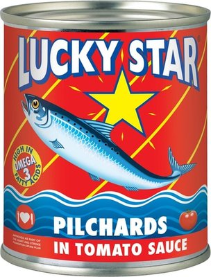 Lucky Star Pilchards in Tomato Sauce Can (215g):