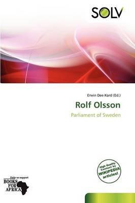 Rolf Olsson (Paperback): Erwin Dee Kord