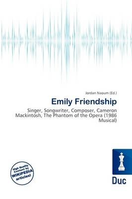 Emily Friendship (Paperback): Jordan Naoum